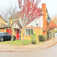 4 bedroom family house in a quiet residential area, hotel near Cambridge Airport - CBG, Teversham