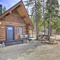 Peaceful Kootenai Cabin - Unplug in the Mtns!, hotel em Bonners Ferry