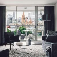 Quay West Suites Melbourne, hotel en Melbourne