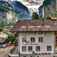 Hotel Silberhorn, отель в Лаутербруннене