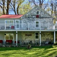 Stone River House, private river access, hotel in Shepherdstown