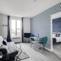 806 Suite Magic Beautiful APT Door of Paris, hotel in Bagnolet