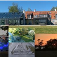 Poolvilla 7 bedrooms, 3 bathrooms, hotel i Marstal