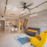 Arte S 3 Bedrooms Condo, hotel in Gelugor