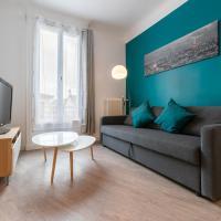 appartement rénové par un architecte, hôtel à Aubervilliers