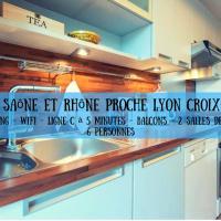 Entre Saône et Rhône Lyon Croix-Rousse, 2 Parkings