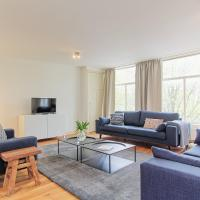 spacious three bedroom apartment with rooftop in center