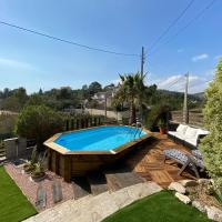 Amazing Vila close to Sitges, jacuzzi, swimming pool & exellent views, hotel a Olivella