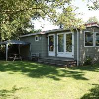 Een chalet met privé sauna en tuin