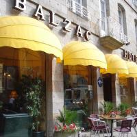 Balzac Hôtel, hotel in Fougères