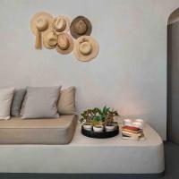 Sandandstone villa Santorini