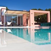 Beautiful 5 Star Villa with Breathtaking Sea Views, Ibiza Villa 1049, hotel in Sant Josep de sa Talaia