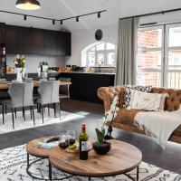Stunning LUX Scandinavian style apt for 5 Parking