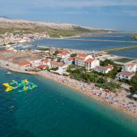 Rooms and Apartments Galeb -Beach side, hotel in Pag