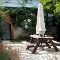 A comfortable rural space in beautiful gardens
