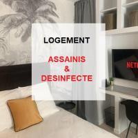 STUDIO TERRASSE à 20 min des Champs Élysées