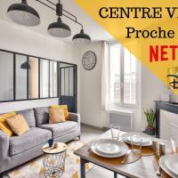#1 Appartements BNB - Centre Ville - 200m Gare, hotel near Poitiers-Biard Airport - PIS, Poitiers