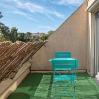 Studio terrasse Montpellier - Parking privé - Proche ligne 1