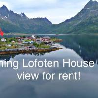 Charming Lofoten House with a view