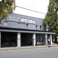 Restaurace a hotel Amerika, отель в городе Гавиржов