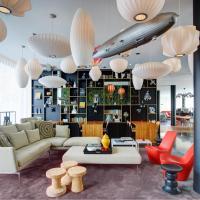 シチズンM パリ シャルル ド ゴール エアポート、ロワシー・アン・フランスのホテル