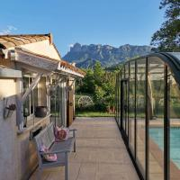 Chambre double Avec piscine et extérieur
