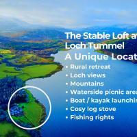 The Stable Loft at Loch Tummel