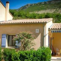 House with 2 bedrooms in La Roche sur le Buis with wonderful mountain view shared pool furnished garden
