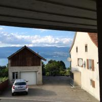 House with 2 bedrooms in Chables with wonderful lake view enclosed garden and WiFi