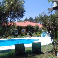 Studio in Nazare with shared pool furnished garden and WiFi 7 km from the beach