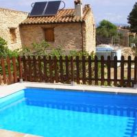 Chalet with 3 bedrooms in Masdenverge with private pool and WiFi 10 km from the beach