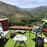House with 3 bedrooms in Viguera, with wonderful mountain view, furnished terrace and WiFi - 80 km from the slopes