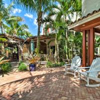 Luxe Home with Backyard Paradise, 1Mi to Beach!