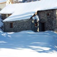 Maison de 2 chambres a Valloire avec magnifique vue sur la montagne jardin amenage et WiFi a 1 km des pistes