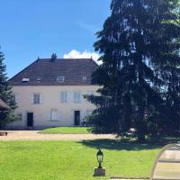 Maison de 2 chambres a Damerey avec piscine partagee jardin clos et WiFi
