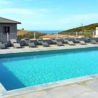 Apartment with one bedroom in Olmeta di Tuda with wonderful mountain view shared pool enclosed garden 10 km from the beach