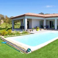 Villa with 4 bedrooms in Sartene with private pool furnished garden and WiFi 10 km from the beach