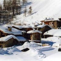 Appartement d'une chambre a Val d'Isere avec magnifique vue sur la montagne et WiFi a 10 m des pistes