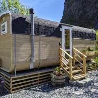 Tiny house with terrace