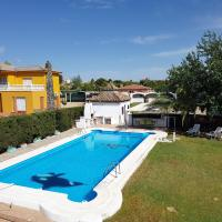 Villa with 3 bedrooms in Linares with private pool and WiFi 120 km from the slopes, hotel in Jaén