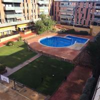 Apartment with 3 bedrooms in Terrassa with wonderful city view shared pool enclosed garden 30 km from the beach