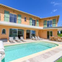 Superb villa with sea view and private pool in Saint-Aygulf