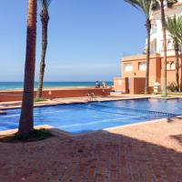 Apartment with 2 bedrooms in Bouznika, with wonderful sea view, shared pool, furnished balcony - 20 m from the beach