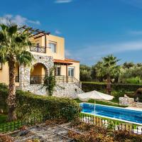 Sea view villa Stelios with Private pool Near the beach