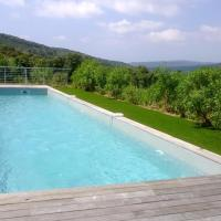 House with 3 bedrooms in Bonifacio with wonderful mountain view shared pool and furnished terrace 6 km from the beach