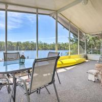 Angler's Getaway: Riverfront Home w/Boat Dock