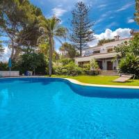 Villa with 5 bedrooms in Denia with private pool furnished terrace and WiFi 50 m from the beach