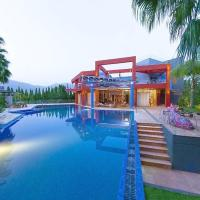 Villa with 4 bedrooms in Eretria, with wonderful sea view, private pool, enclosed garden - 100 m from the beach