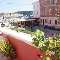 Apartment with one bedroom in Rovinj with wonderful sea view furnished terrace and WiFi 100 m from the beach
