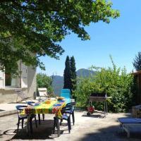 Maison de 3 chambres a Plan de Baix avec magnifique vue sur la montagne jardin amenage et WiFi